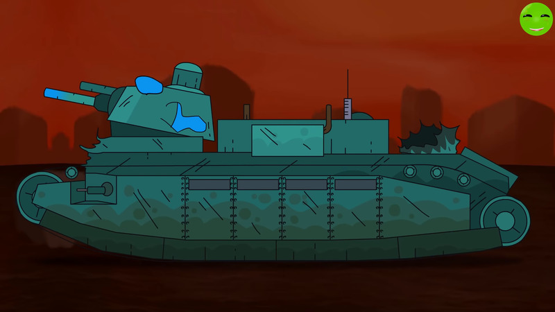 Hell monster Cartoons about tanks