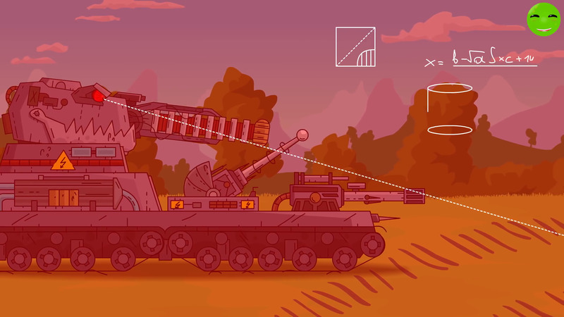Attack of the Electro Monster - Cartoons about tanks