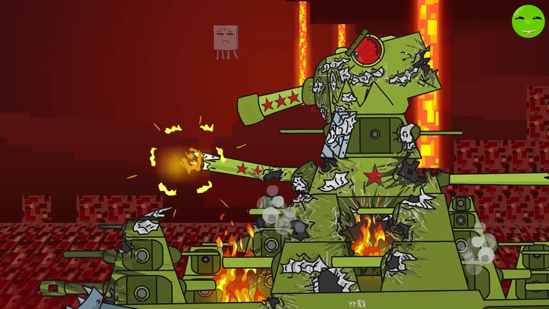 KV-44 in hell Minecraft - Cartoons about tanks