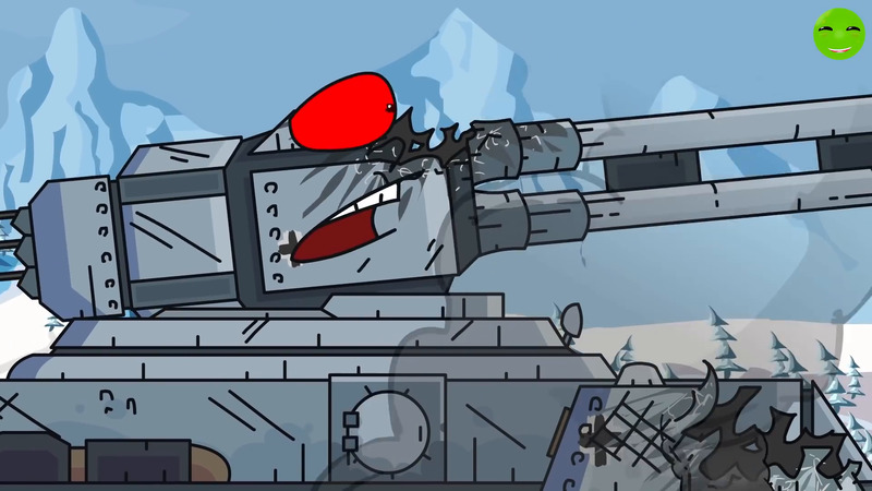 Smashing with Fire - Cartoons about Tanks